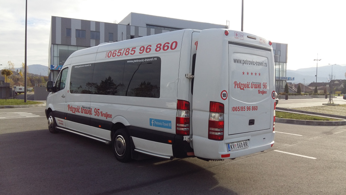 Merceses sprinter 518 cdi 20+1